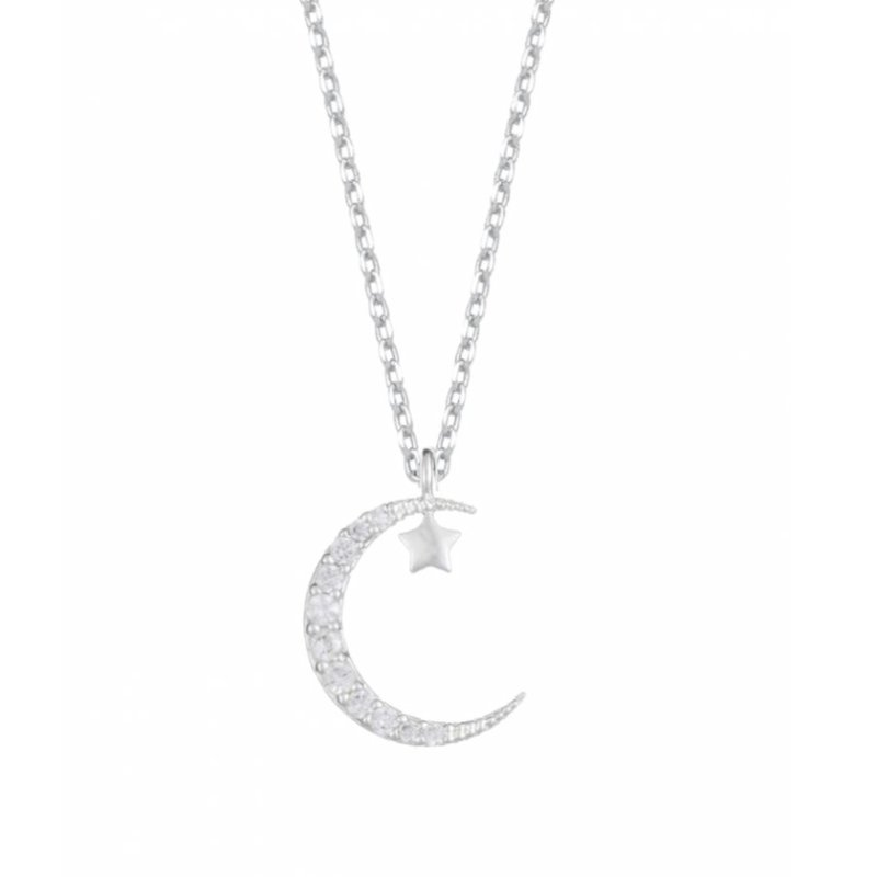 ESTELLA BARTLETT MOON AND STAR NECKLACE