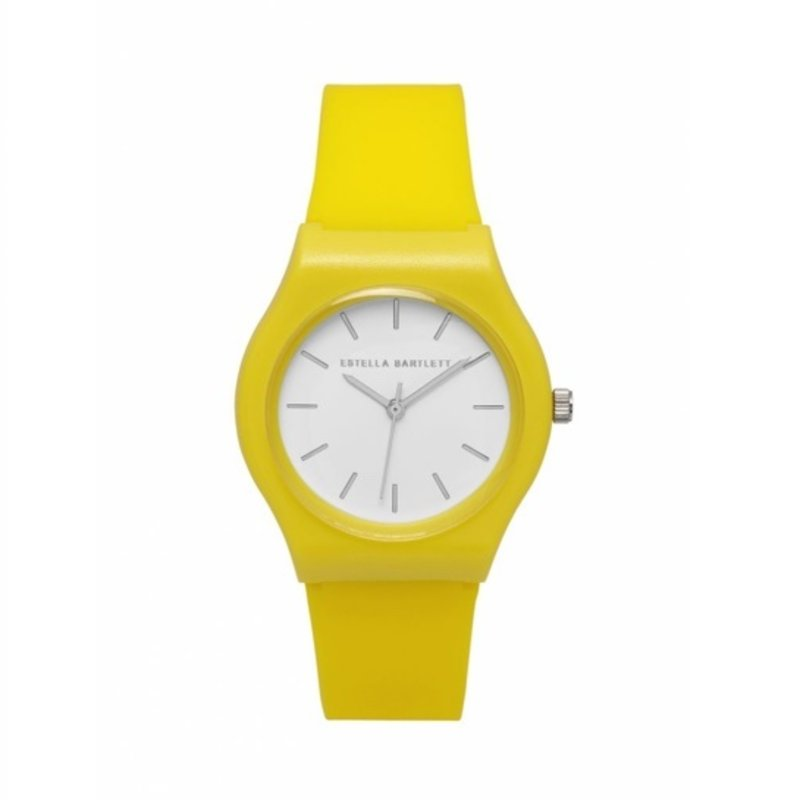 ESTELLA BARTLETT SILICONE WATCH - YELLOW