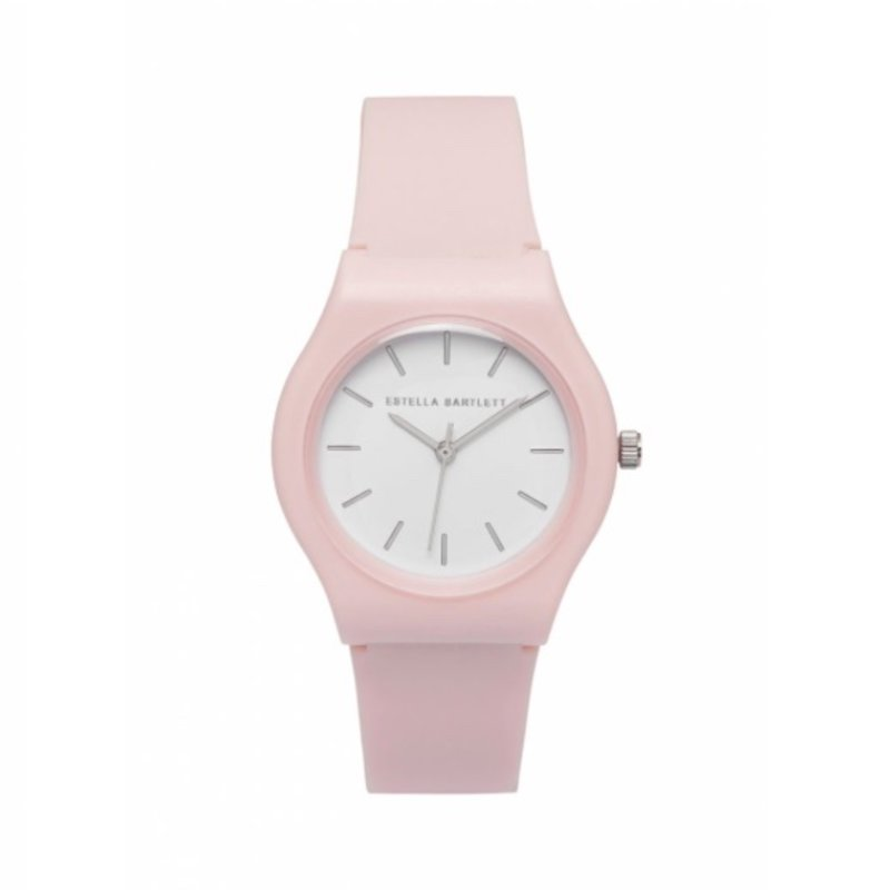 ESTELLA BARTLETT SILICONE WATCH - BLUSH