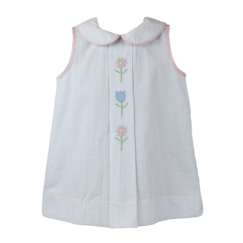 LULLABY SET BLUEBONNET DRESS- KEEP BLOOMING