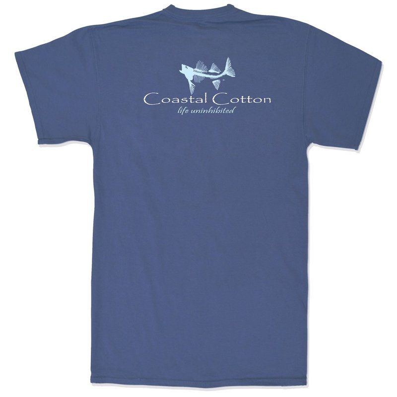 COASTAL COTTON CLOTHING YOUTH NAVY SIGNATURE ISLAND TEE