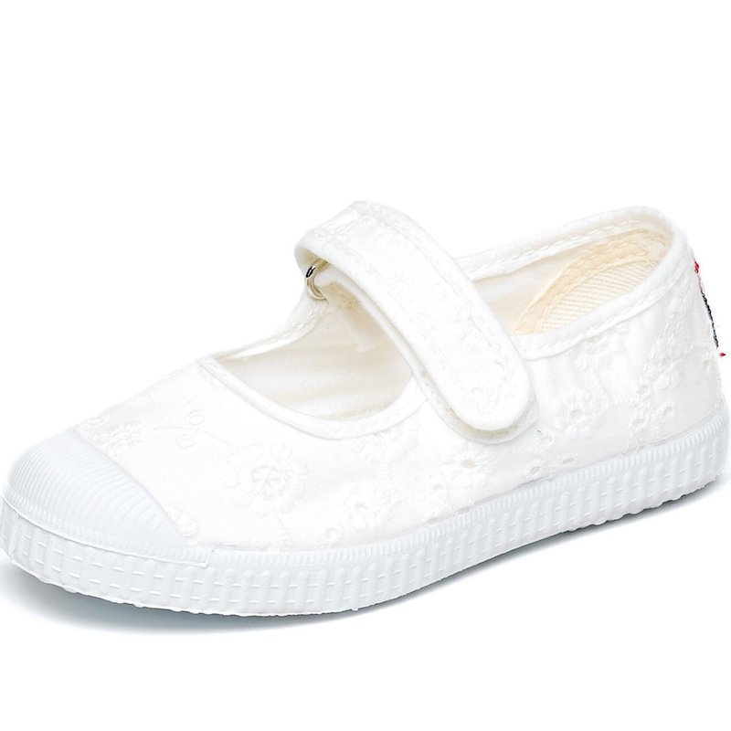 CIENTA SHOES MARY JANE- WHITE
