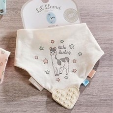 Giftcraft Cotton Bib with Rubber Teether