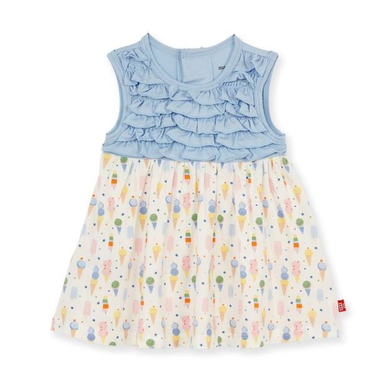 MAGNIFICENT BABY ICE ICE CREAM BABY MODAL MAGNETIC TODDLER DRESS