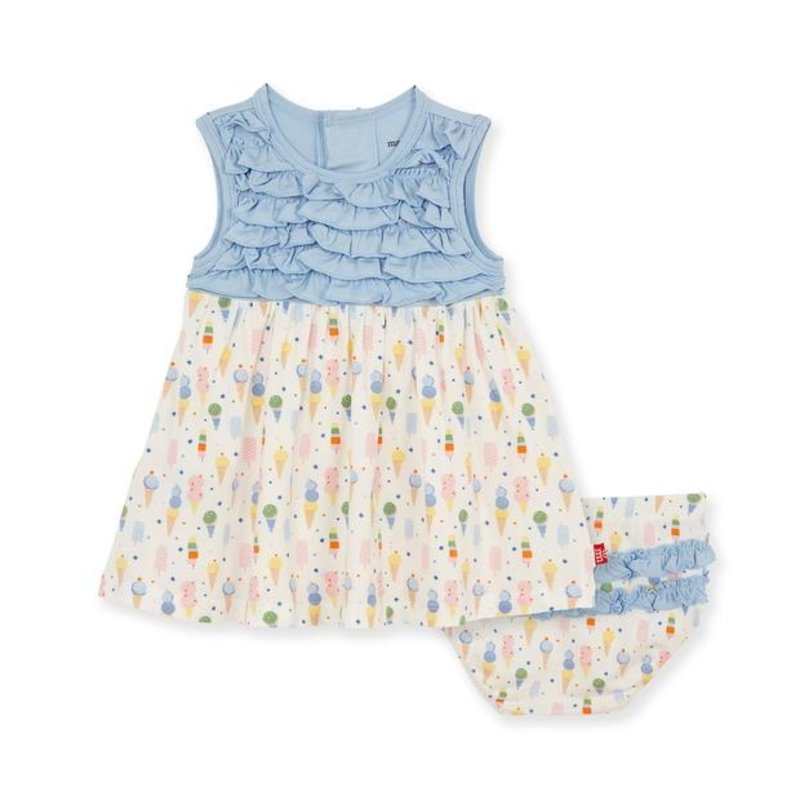 MAGNIFICENT BABY ICE ICE CREAM BABY MODAL MAGNETIC DRESS/DIAPER COVER