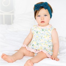 MAGNIFICENT BABY CITRUS BLOOM MODAL MAGNETIC DRESS/DIAPER COVER