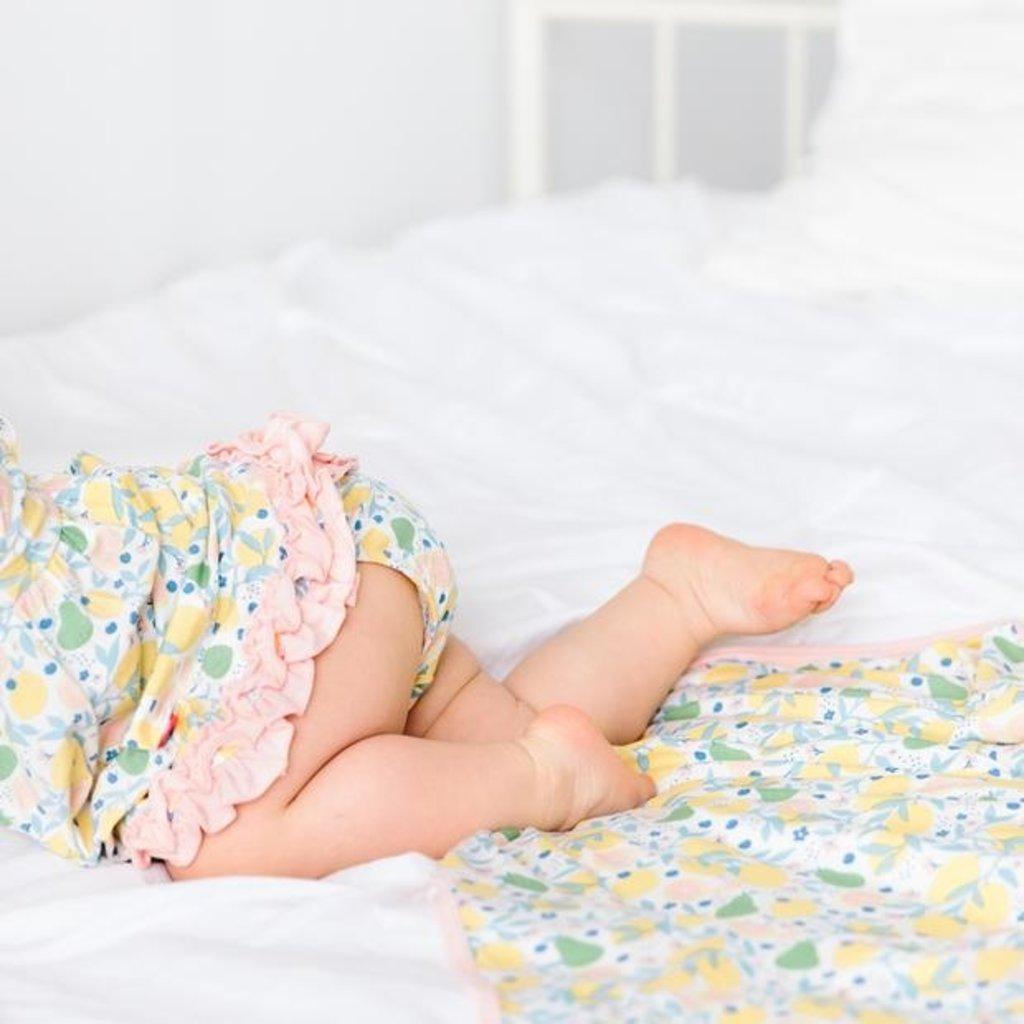 MAGNIFICENT BABY CITRUS BLOOM MODAL BLANKET
