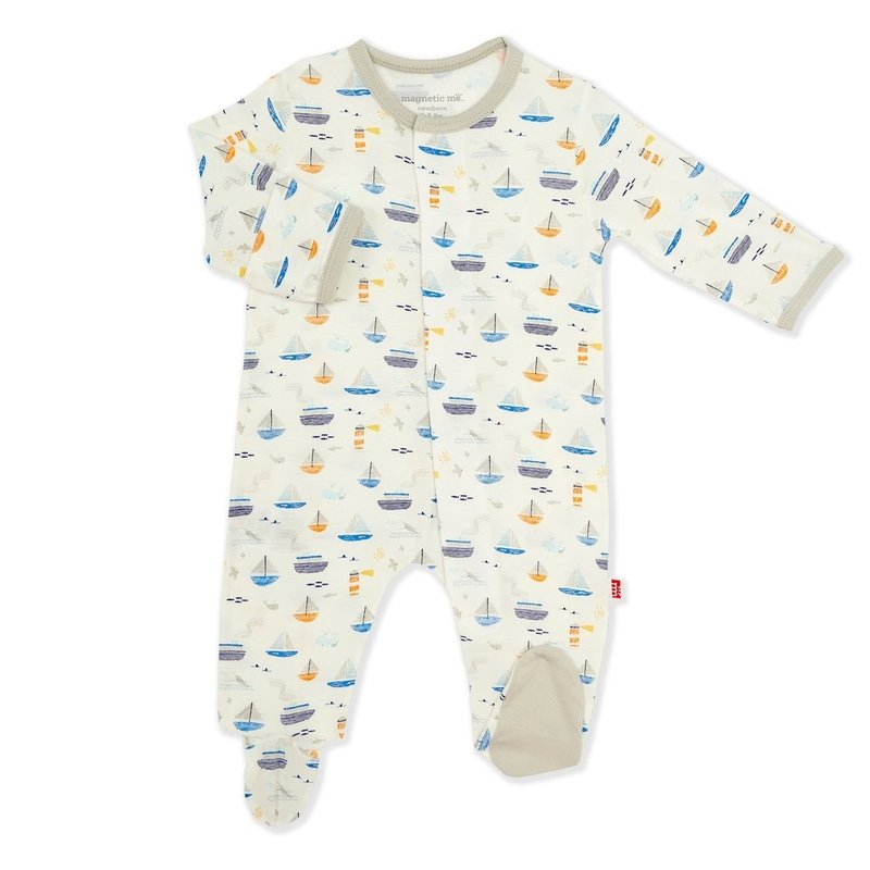 MAGNIFICENT BABY MONTEREY BAY MODAL MAGNETIC FOOTIE