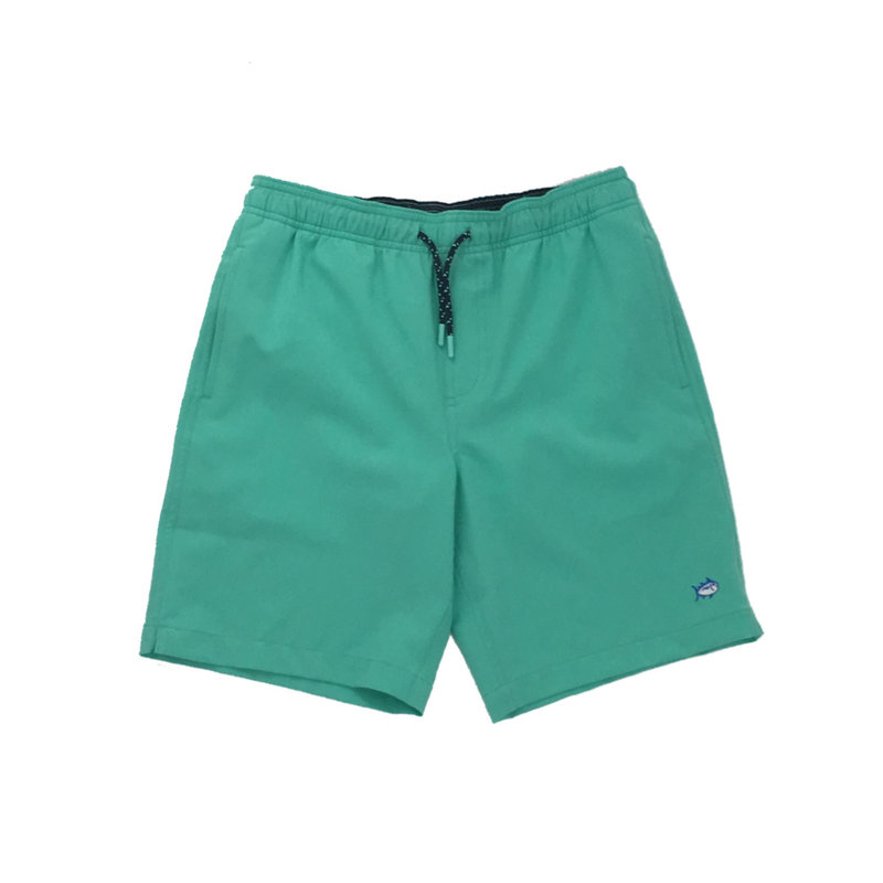 SOUTHERN TIDE Y SOLID SWIM TRUNK- COCKATOO