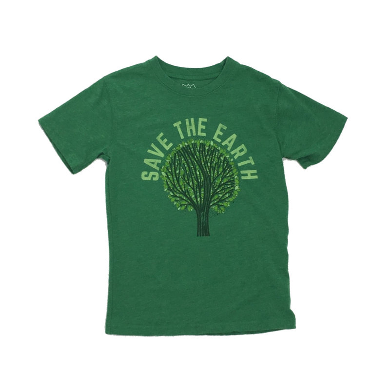 WES AND WILLY SAVE THE EARTH SS TEE- CLOVER BLEND
