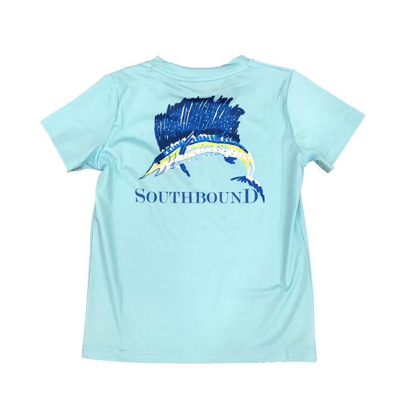 SOUTHBOUND PERFORMANCE TEE- MARLIN