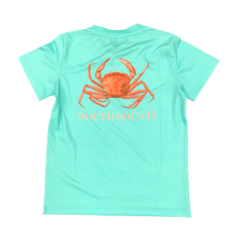 SOUTHBOUND PERFORMANCE TEE- CRAB