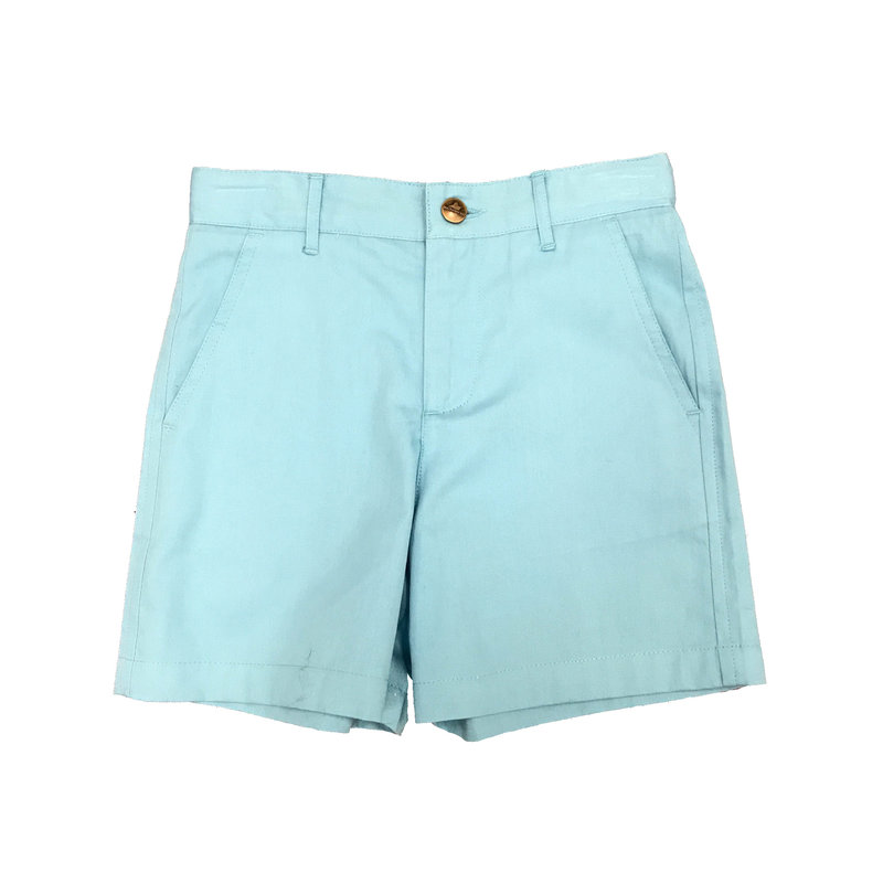 SOUTHBOUND DRESS SHORTS- BLUE GROTTO TURQUOISE