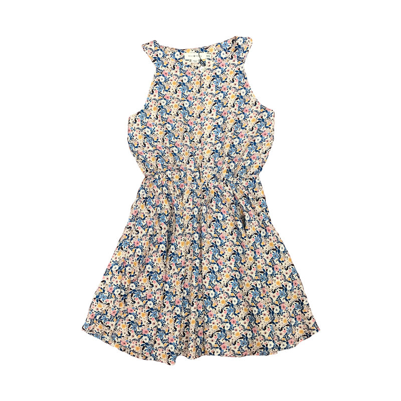 MINI MOLLY WOVEN DRESS- WILDFLOWERS LIGHT PINK
