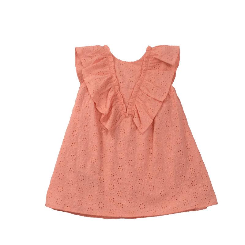 TUTTO PICCOLO DRESS- TANGERINE