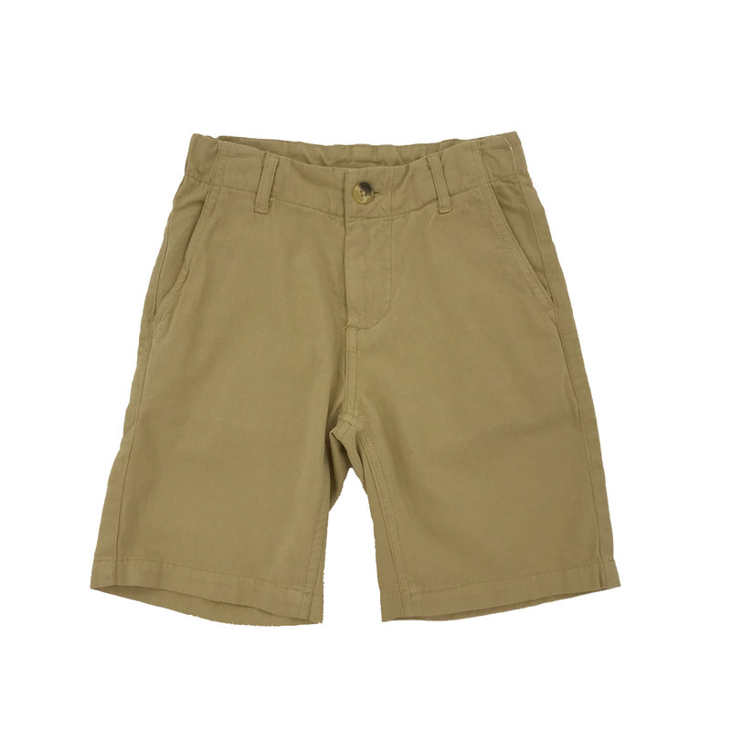 WES AND WILLY JT TWILL SHORT- KHAKI
