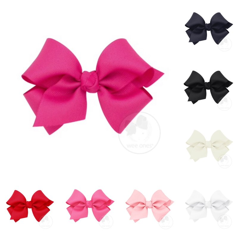 WEE ONES Small Classic Grosgrain Hair Bow