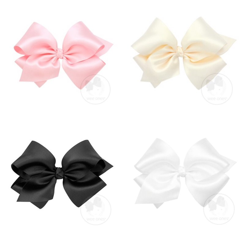 WEE ONES King Size French Satin Bow