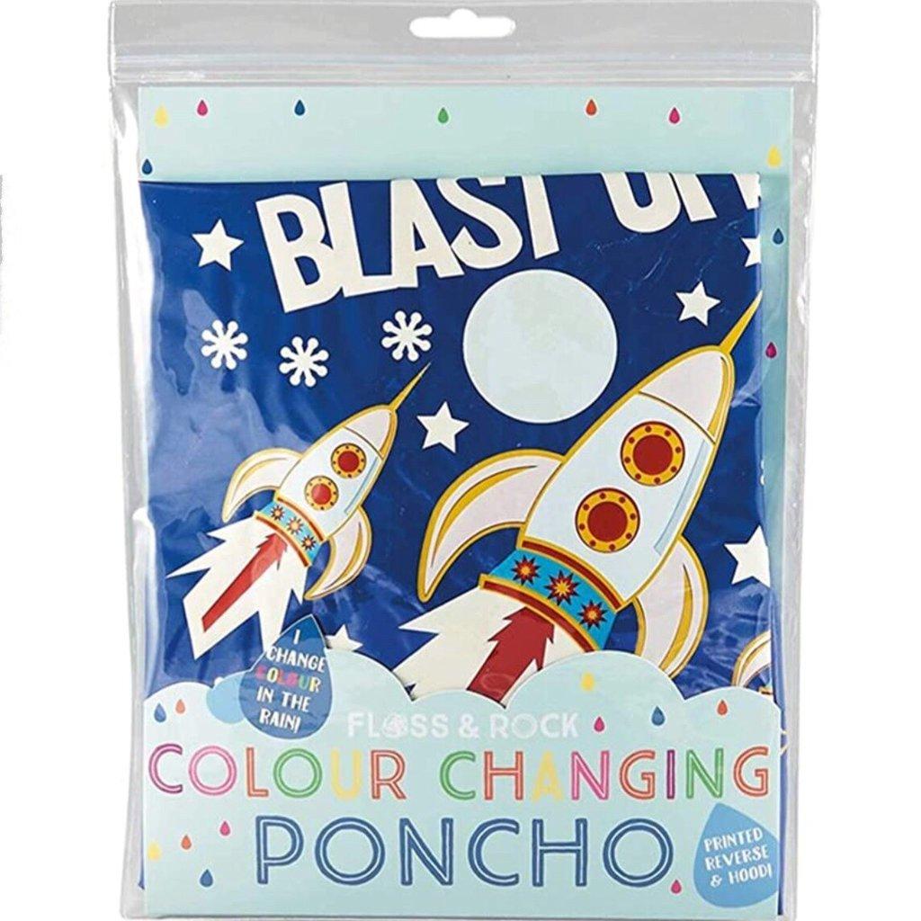 Floss & Rock CC PONCHO ROCKET SPACE