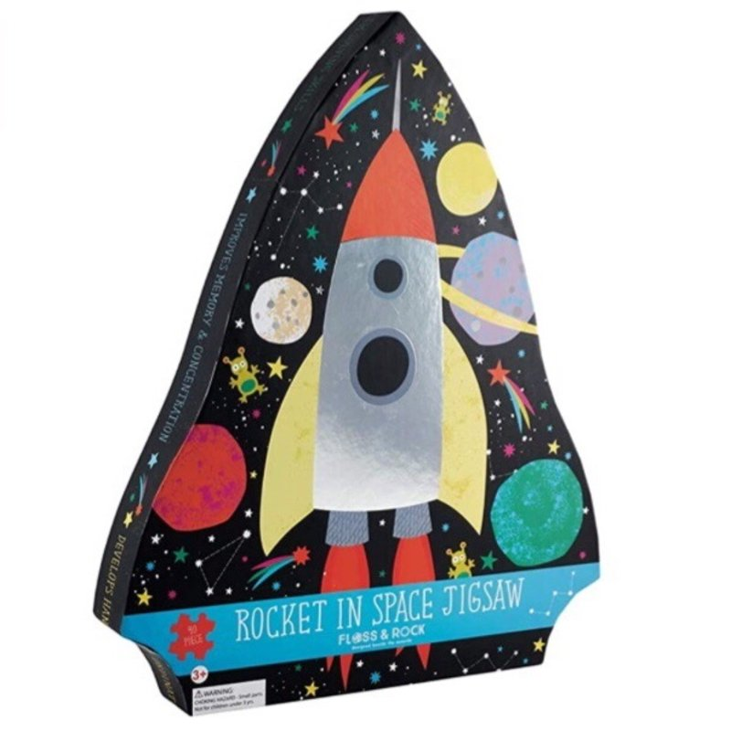 Floss & Rock SPACE 40PC JIGSAW PUZZLE