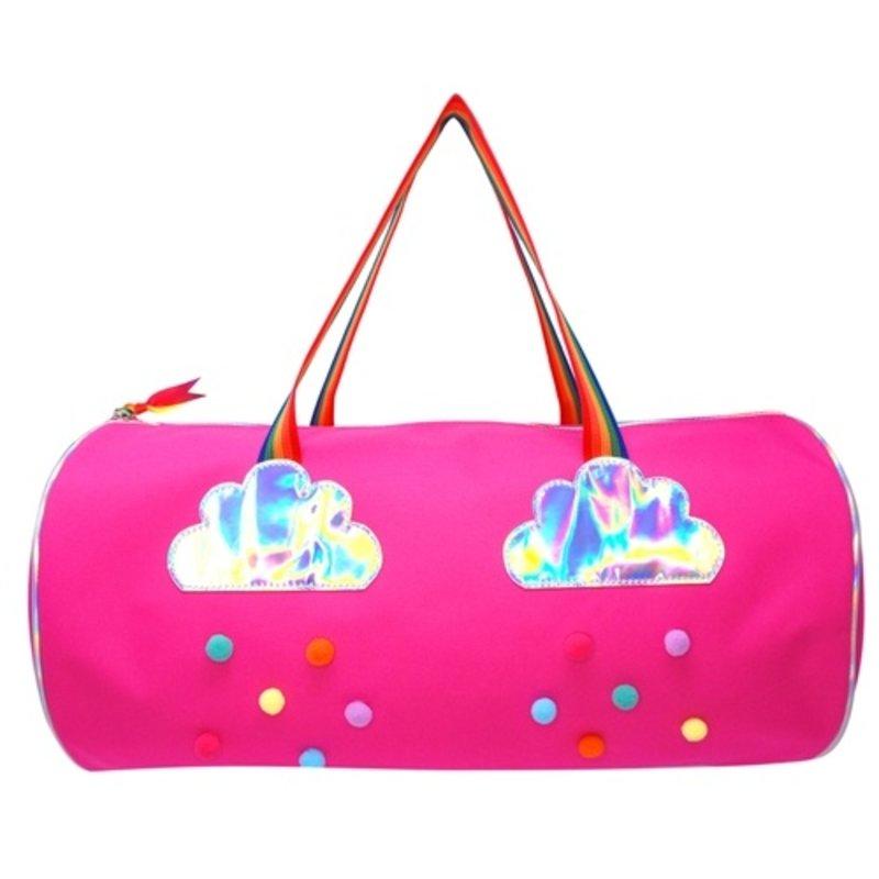 RAINBOW MAGIC OVERNIGHT BAG- PINK