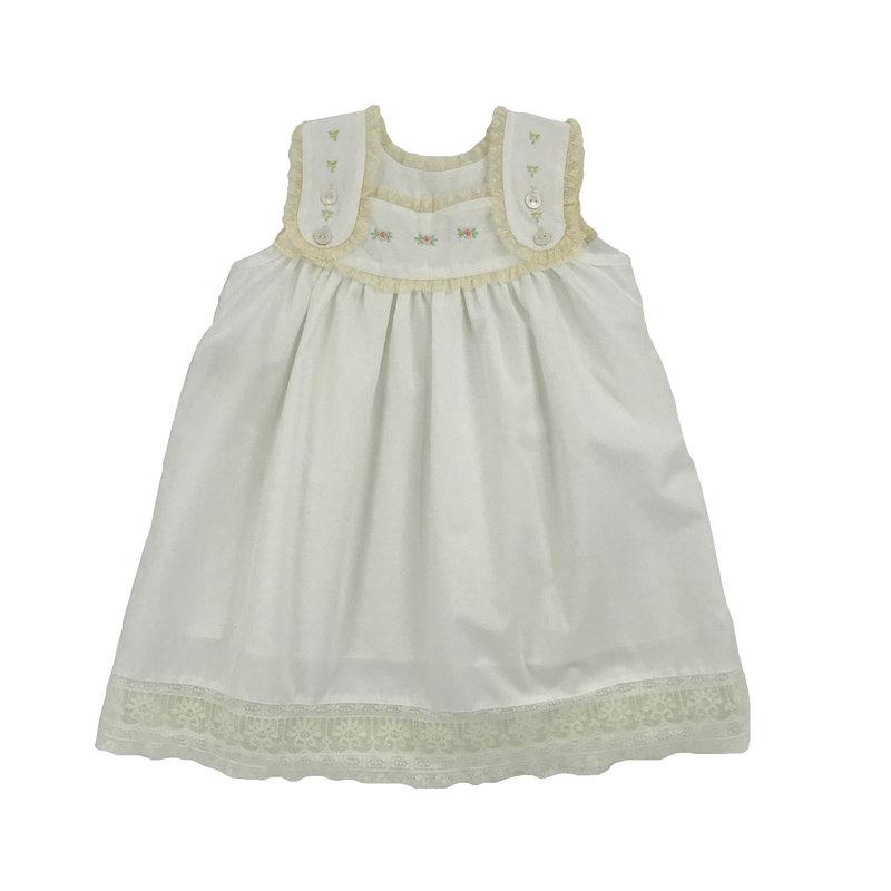 PHEONIX N REN WHITE ELEANOR DRESS