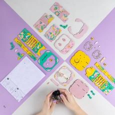 HANDS CRAFT DIY 3D WOODEN PUZZLE MUSIC BOX: BALLERINA
