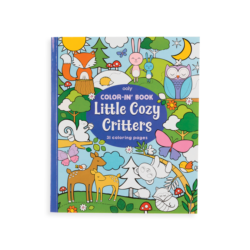 OOLY COLOR IN BOOKS- LITTLE COZY CRITTERS