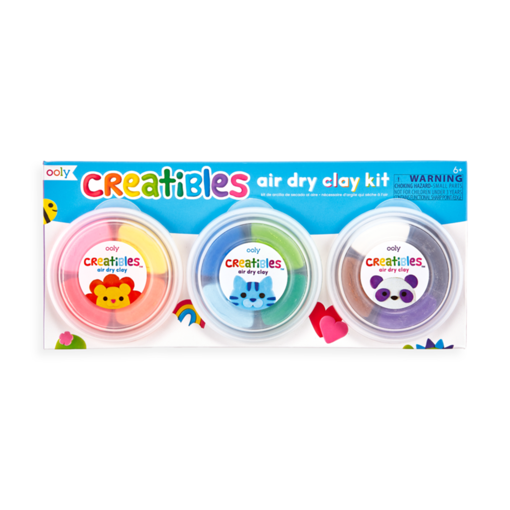OOLY CREATIBLES DIY AIR-DRY CLAY KIT