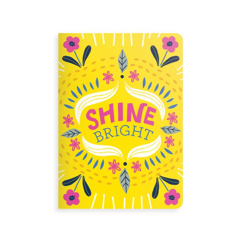 OOLY JOT IT! NOTEBOOK: SHINE BRIGHT