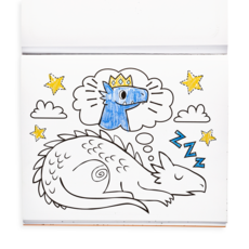 OOLY GIFTABLES- KNIGHTS AND DRAGONS SWITCHEROO COLORING PACK