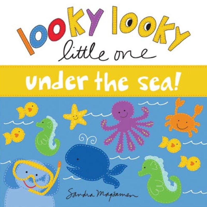 SOURCEBOOKS LOOKY LOOKY LITTLE ONE- UNDER THE SEA