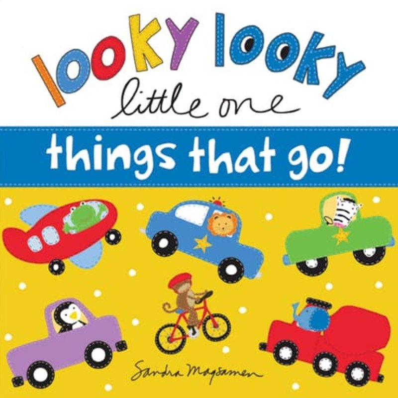 SOURCEBOOKS LOOKY LOOKY LITTLE ONE- THINGS THAT GO