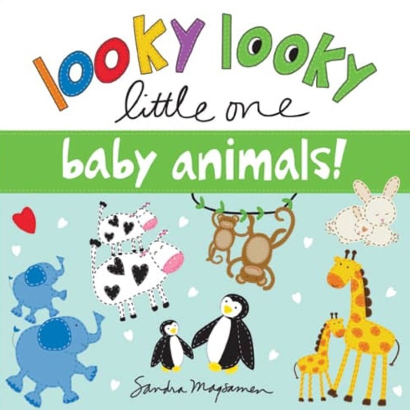 SOURCEBOOKS LOOKY LOOKY LITTLE ONE- BABY ANIMALS