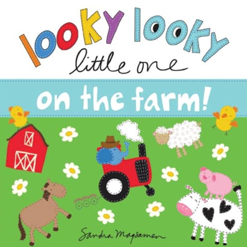 SOURCEBOOKS LOOKY LOOKY LITTLE ONE- ON THE FARM