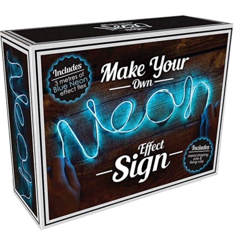 ISCREAM NEON EFFECT BLUE LIGHT