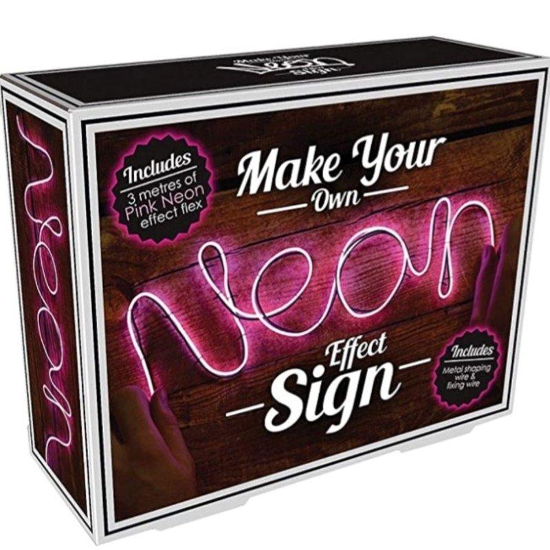 ISCREAM NEON EFFECT PINK LIGHT