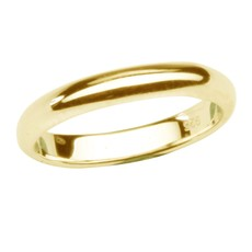 CHERISHED MOMENTS 14K GOLD-PLATED BABY RING