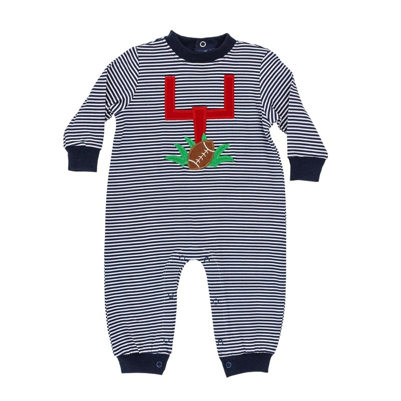 BAILEY BOYS GAME DAY KNIT ROMPER