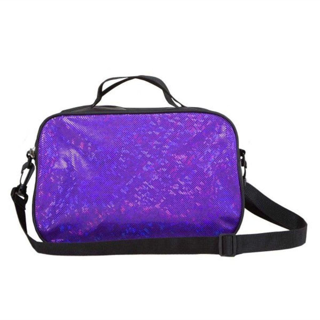 EVERLEIGH GLITTER BAG - PARTY PURPLE