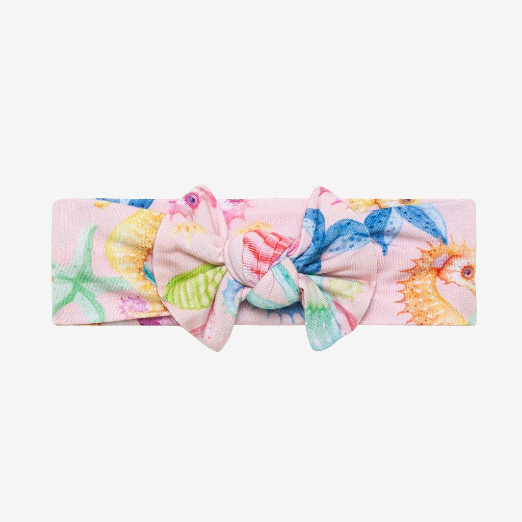 POSH PEANUT Coral - Infant Headwrap