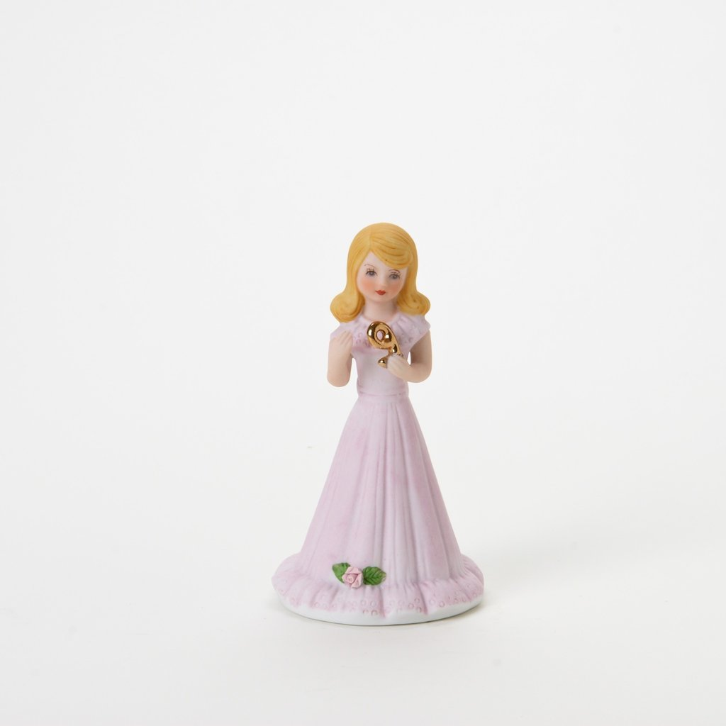 GROWING UP GIRLS FIGURINE - AGE 9
