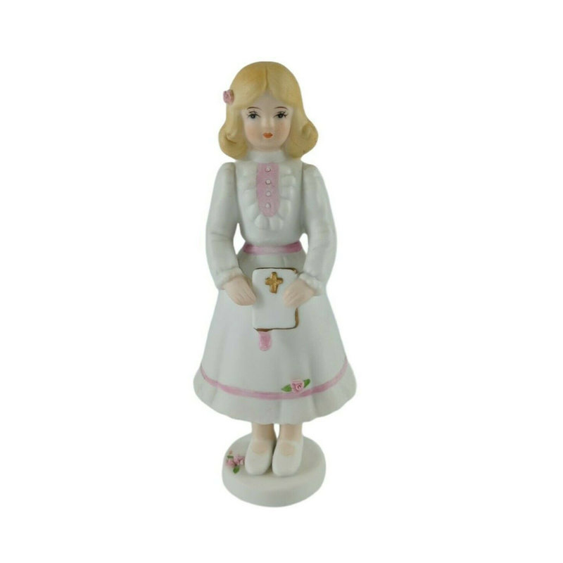 GROWING UP GIRLS FIGURINE - CONFIRMATION