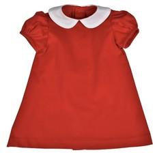 FUNTASIA TOO FLOAT DRESS - RED CORDUROY
