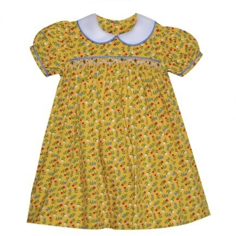 REMEMBER NGUYEN YELLOW JAMIE DRESS