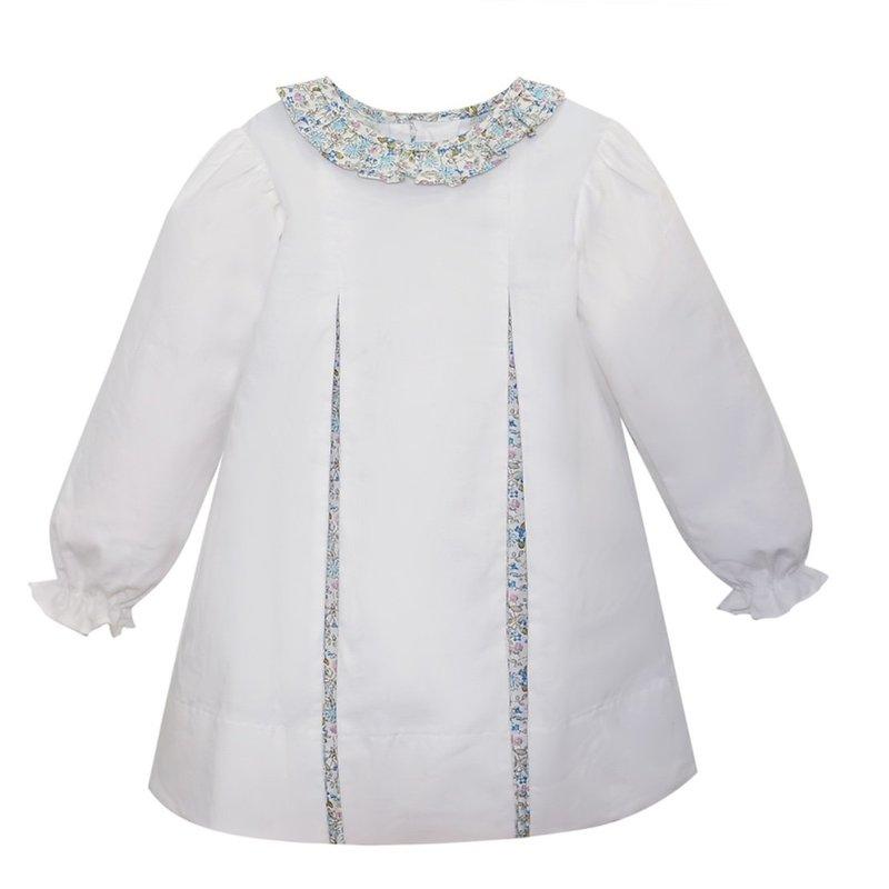 REMEMBER NGUYEN WHITE JANA DRESS