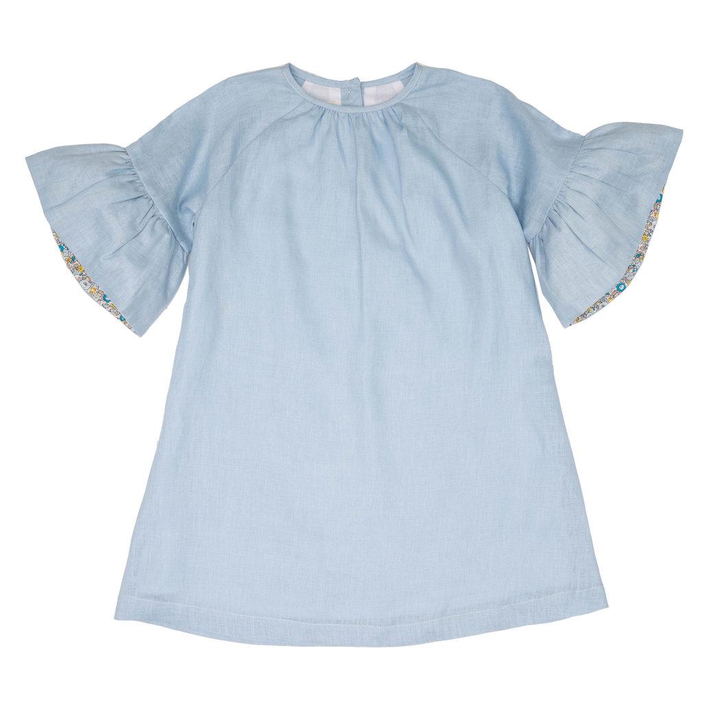THE OAKS APPAREL COMPANY COLLETTE BLUE DRESS