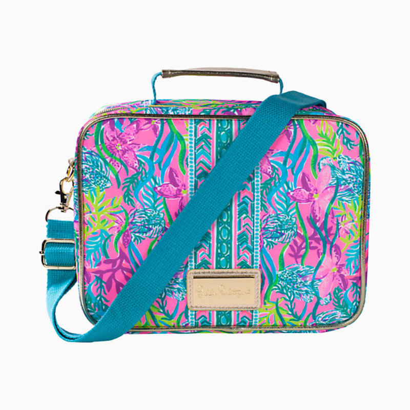 LILLY PULITZER LUNCH BAG - PARTY ALL THE TIDE