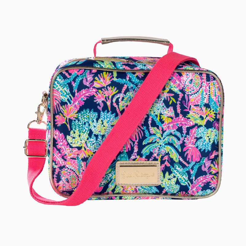 LILLY PULITZER LUNCH BAG - SEEN AND HEARD