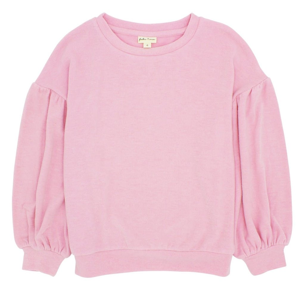 BOWIE PULLOVER - FAIRY TALE PINK